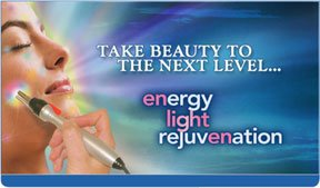 Take beauty to the next level with the Energy Light Rejuvenation treatment on the Accutron