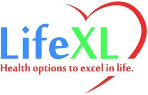 LifeXL logo Health options to excel in life