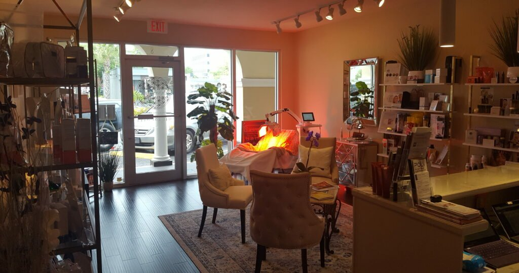 BioMat and LED Light Therapy Sessions Area